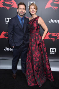 Zack Snyder and Deborah Snyder at the New York premiere of