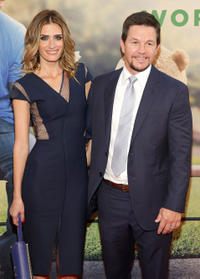 Rhea Durham and Mark Wahlberg at the New York premiere of
