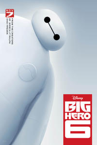 Big Hero 6 poster art baymax