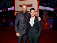 Scott Adsit and Ryan Potter at the California premiere of