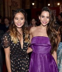 Jamie Chung and Genesis Rodriguez at the California premiere of