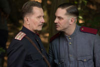 Gary Oldman and Tom Hardy in