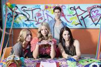 Jessie Ennis as Viola, Sasha Pieterse as Fawcett, Michael J. Willett as Tanner and Joanna 'Jojo' Levesque as Soledad in
