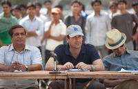 Darshan Jariwala as Vivek, Jon Hamm as JB Bernstein and Alan Arkin as Ray in