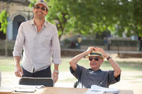 Jon Hamm as JB Bernstein and Alan Arkin as Ray in