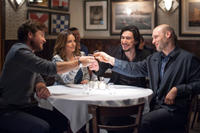 Jason Bateman as Judd Altman, Tina Fey as Wendy Altman, Adam Driver as Phillip Altman and Corey Stoll as Paul Altman in