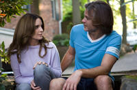 Tina Fey as Wendy Altman and Timothy Olyphant as Horry Callen in
