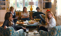 Tina Fey as Wendy Altman, Jane Fonda as Hillary Altman, Kathryn Hahn as Alice Altman, Adam Driver as Phillip Altman and Connie Britton as Tracy Sullivan in