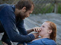 Mark Webber as Preston and Sarah Snook as Jessie in