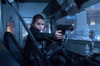 Emilia Clarke as Sarah Connor in