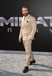 Jai Courtney at the California premiere of