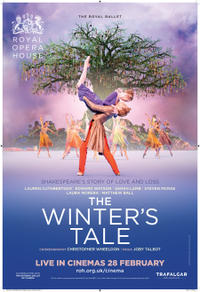 The Royal Opera House: The Winter's Tale poster art