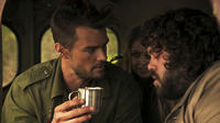 "(L-r) Josh Duhamel as Adam, Elisabeth Harnois as Eve and Dan Fogler as Warren in the psychedelic comedy ""DON PEYOTE"""