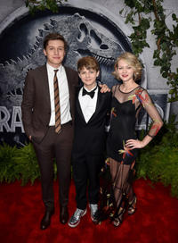 Nick Robinson, Ty Simpkins and Ryan Simpkins at the California premiere of