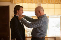 Luke Bracey and Gerald McRaney in