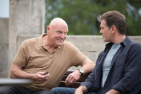 Bill Smitrovich and Pierce Brosnan in