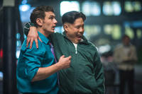 James Franco and Randall Park in