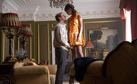 Armie Hammer as Illya and Alicia Vikander as Gaby in