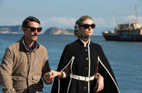 Luca Calvani as Alexander and Elizabeth Debicki as Victoria in