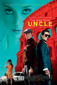 """Poster art for """"The Man From U.N.C.L.E."""""""