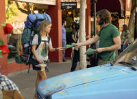 Reese Witherspoon as Cheryl Strayed and Michiel Huisman as Jonathan in
