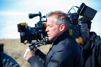Director Jean-Marc Vallee on the set of