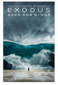 Exodus: Gods and Kings poster art