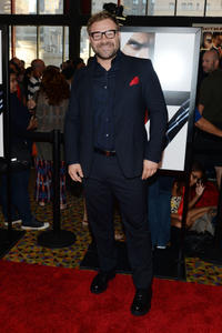Director Aleksander Bach at the New York premiere of