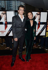 Rupert Friend and Hannah Ware at the New York premiere of