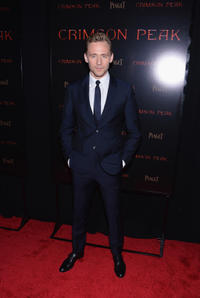 Tom Hiddleston at the New York premiere of