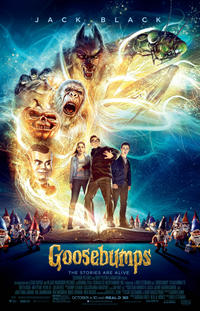 Goosebumps poster art