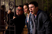 Jack Black, Odeya Rush and Dylan Minette in