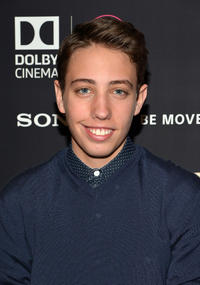 Ryan Lee at the New York premiere of