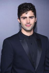 Max Ehrich at the New York premiere of