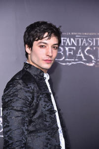 Ezra Miller at the New York premiere of