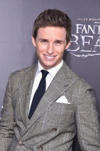 Eddie Redmayne at the New York premiere of