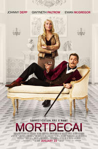 Mortdecai poster art