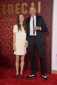 Emilie Livingston and Jeff Goldblum at the California premiere of