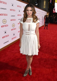 Carly Steel at the California premiere of