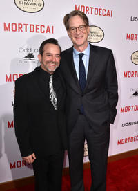 Geoff Zanelli and David Koepp at the California premiere of