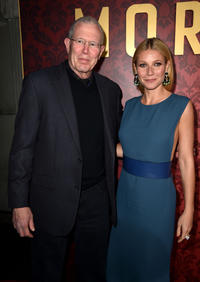 Michael Paseornek and Gwyneth Paltrow at the California premiere of