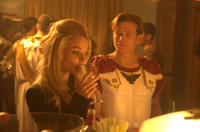 Emma Rigby as Frankie and Ed Speleers as Sam in