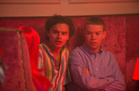 Sebastian De Souza as Rafa and Will Poulter as Fordy in