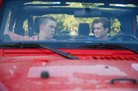 Will Poulter as Fordy and Ed Speleers as Sam in