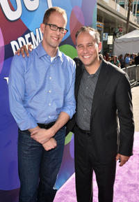 Director Pete Docter and producer Jonas Rivera at the California premiere of