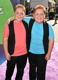 Benjamin and Matthew Royer at the California premiere of