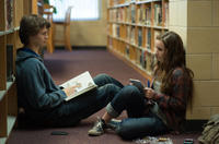 Ansel Elgort as Tim Mooney and Kaitlyn Dever as Brandy Beltmeyer in