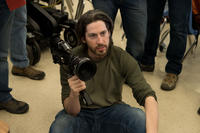 Director Jason Reitman on the set of