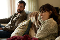 Adam Sandler as Don Truby and Rosemarie DeWitt as Helen Truby in