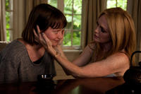 Mia Wasikowska as Agatha and Julianne Moore as Havana Segrand in